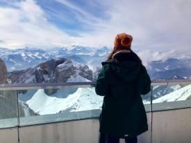 Overlooking Mt.Pilatus. March 2014.