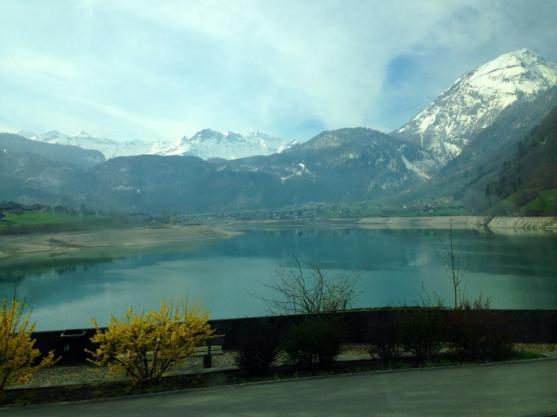 Outskirts of Switzerland. March 2014.